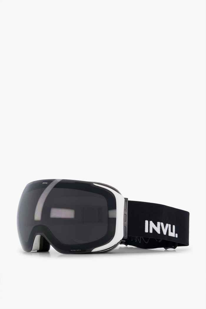 INVU White Magnetic Skibrille 1