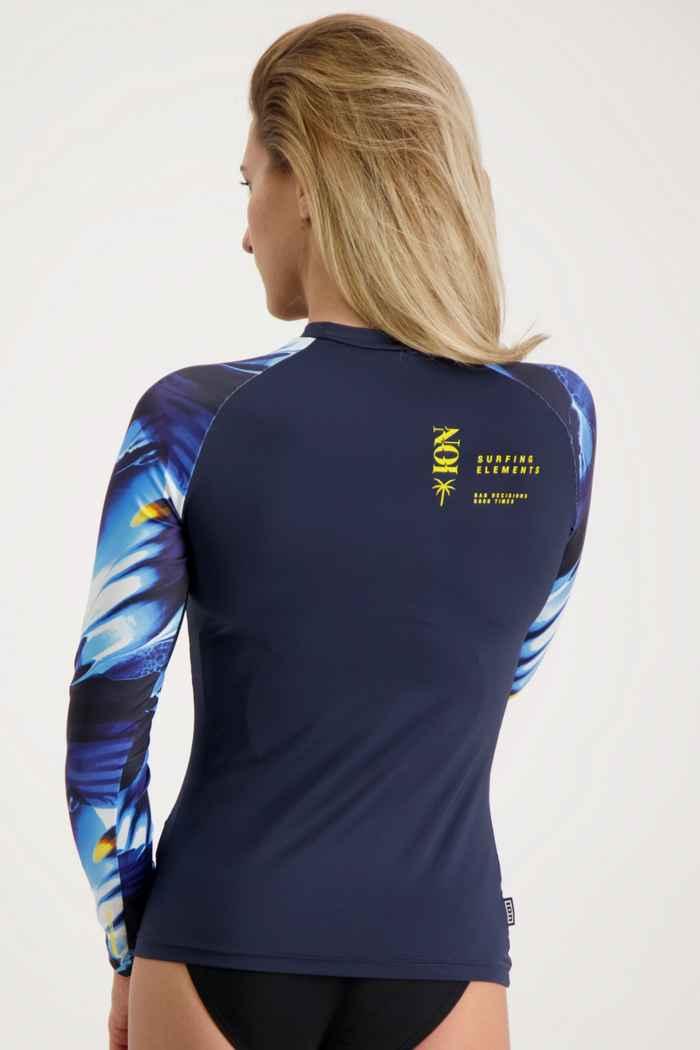ION Rashguard Lizz LS lycra shirt femmes 2