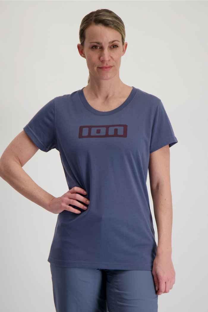 ION Seek DR 2.0 maillot de bike femmes Couleur Bleu 1