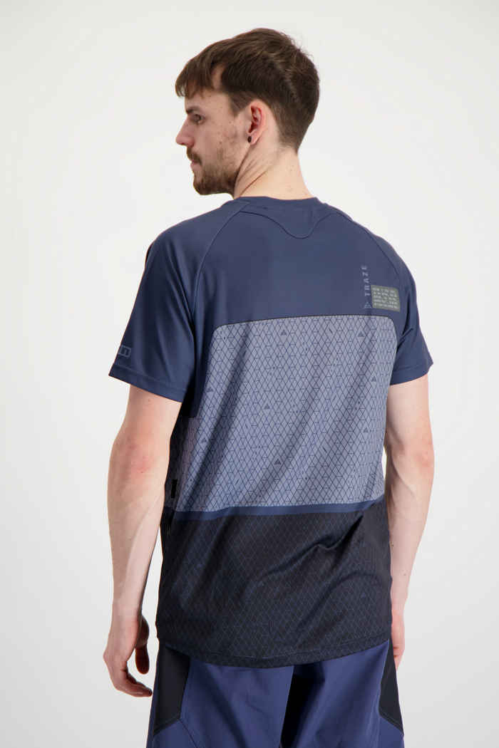 ION Traze AMP X maglia da bike uomo Colore Blu 2