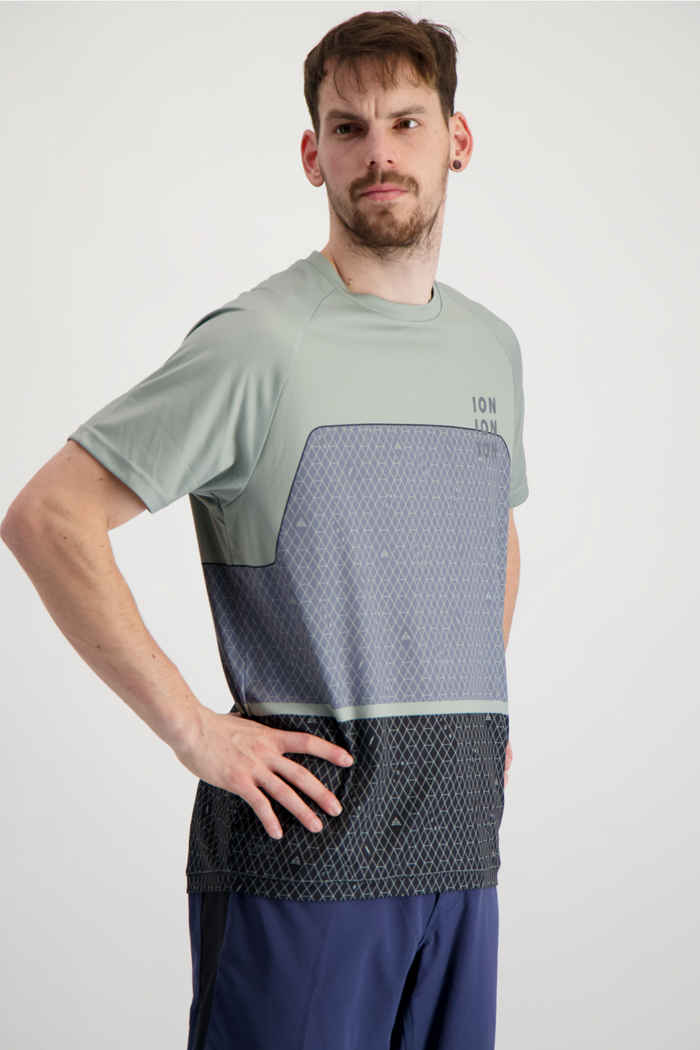 ION Traze AMP X maglia da bike uomo Colore Verde 1