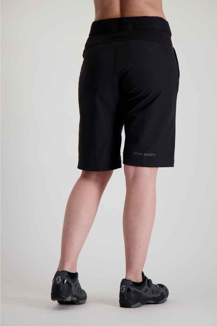 ION Traze X short de bike femmes Couleur Noir 2