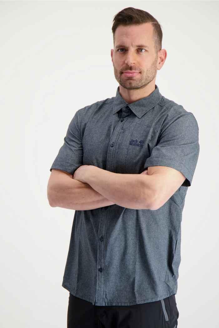 Jack Wolfskin Barrel camicia da trekking uomo 1