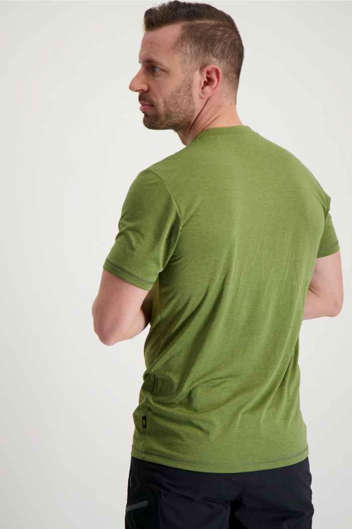 Jack Wolfskin Crosstrail t-shirt uomo Colore Verde 2