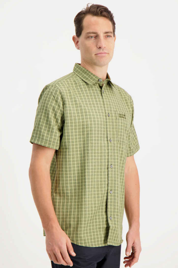 Jack Wolfskin El Dorado camicia da trekking uomo Colore Verde oliva 1