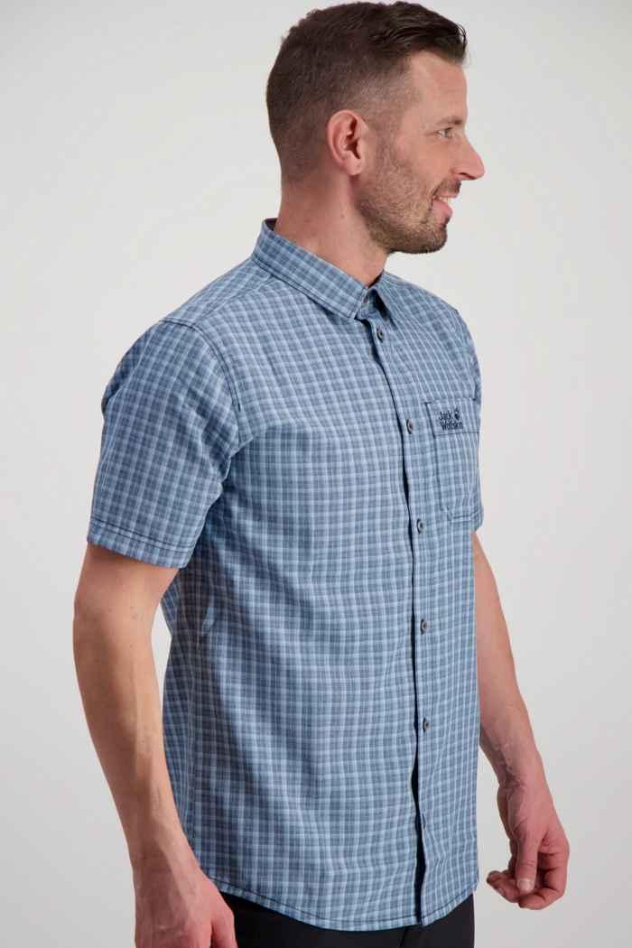 Jack Wolfskin El Dorado chemise de randonnée hommes Couleur Bleu 1