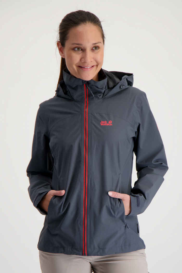 Jack Wolfskin Evandale giacca outdoor donna Colore Antracite 1