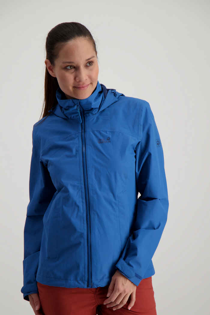 Jack Wolfskin Evandale giacca outdoor donna Colore Blu 1