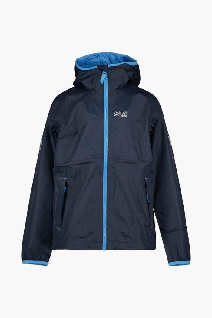 Jack Wolfskin Rainy Days giacca outdoor bambini Colore Blu navy 1