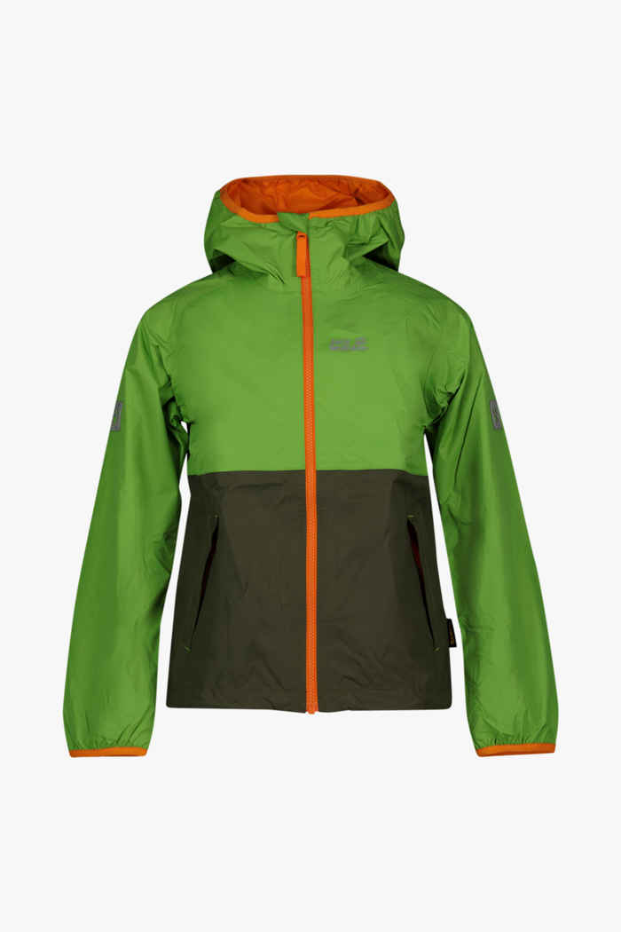 Jack Wolfskin Rainy Days giacca outdoor bambini Colore Verde 1