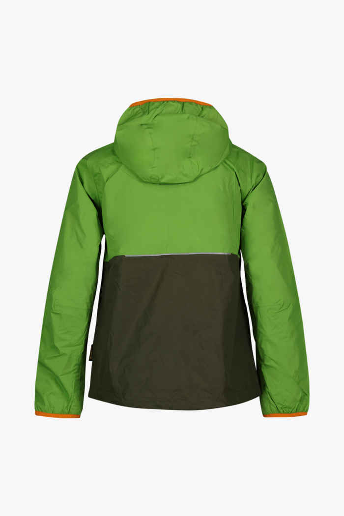 Jack Wolfskin Rainy Days giacca outdoor bambini Colore Verde 2