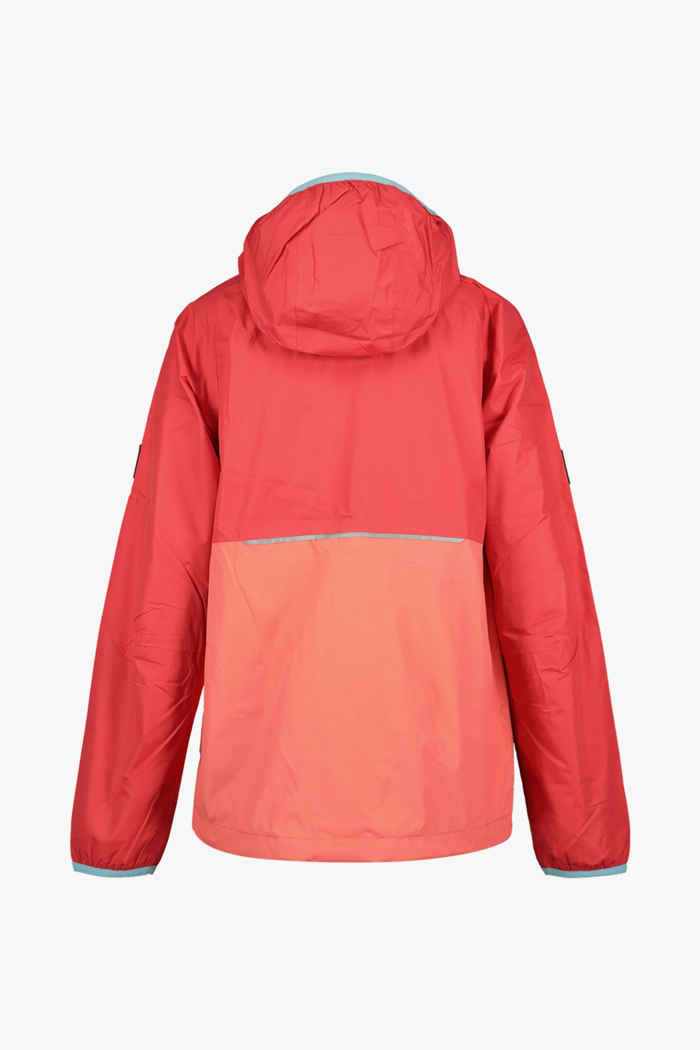 Jack Wolfskin Rainy Days veste outdoor enfants Couleur Rouge 2