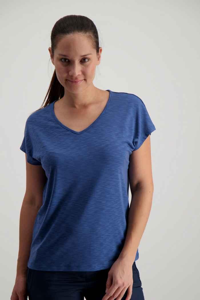 Jack Wolfskin Travel t-shirt femmes Couleur Bleu 1