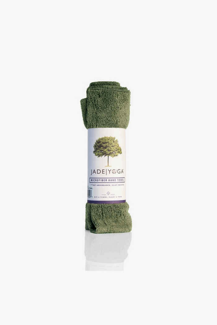 Jade Yoga panno microfibra Colore Verde oliva 1