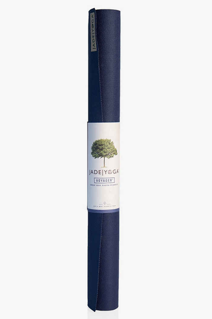 Jade Yoga Voyager tapis de yoga Couleur Bleu foncé 1