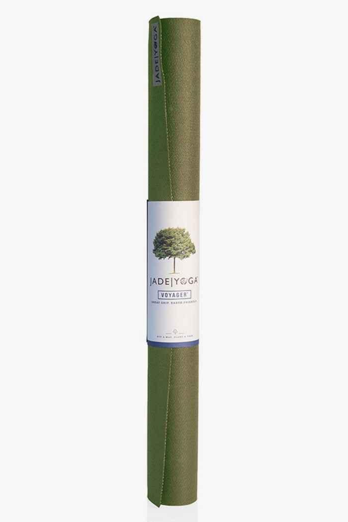 Jade Yoga Voyager tapis de yoga Couleur Olive 1