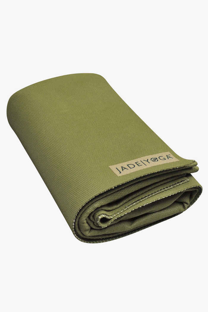 Jade Yoga Voyager tapis de yoga Couleur Olive 2