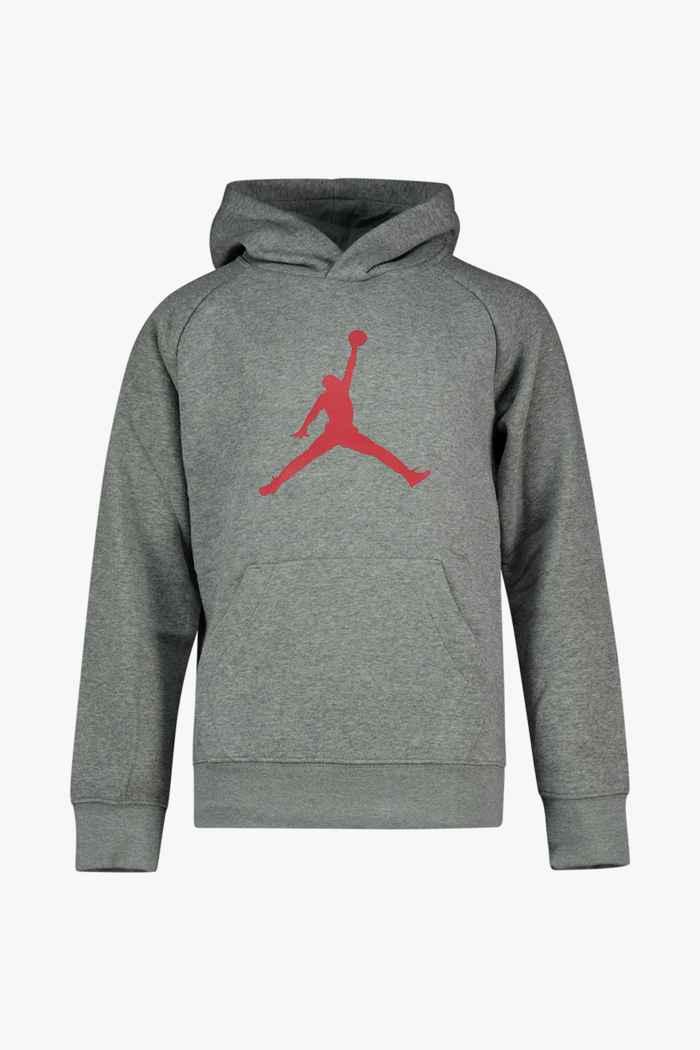 JORDAN Jumpman Logo hoodie enfants Couleur Gris 1