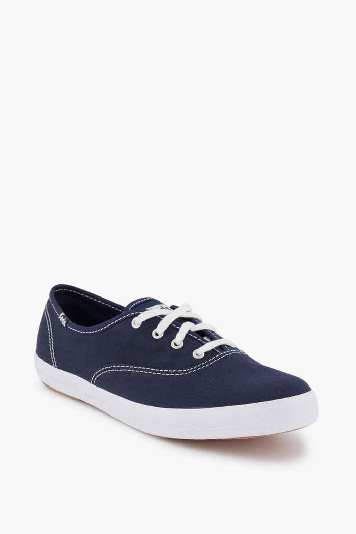 Keds Champion sneaker femmes Couleur Blanc/bleu 1