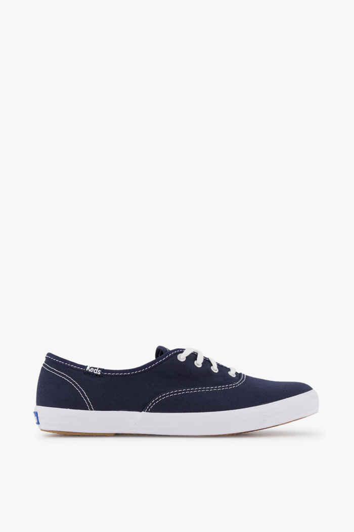Keds Champion sneaker femmes Couleur Blanc/bleu 2