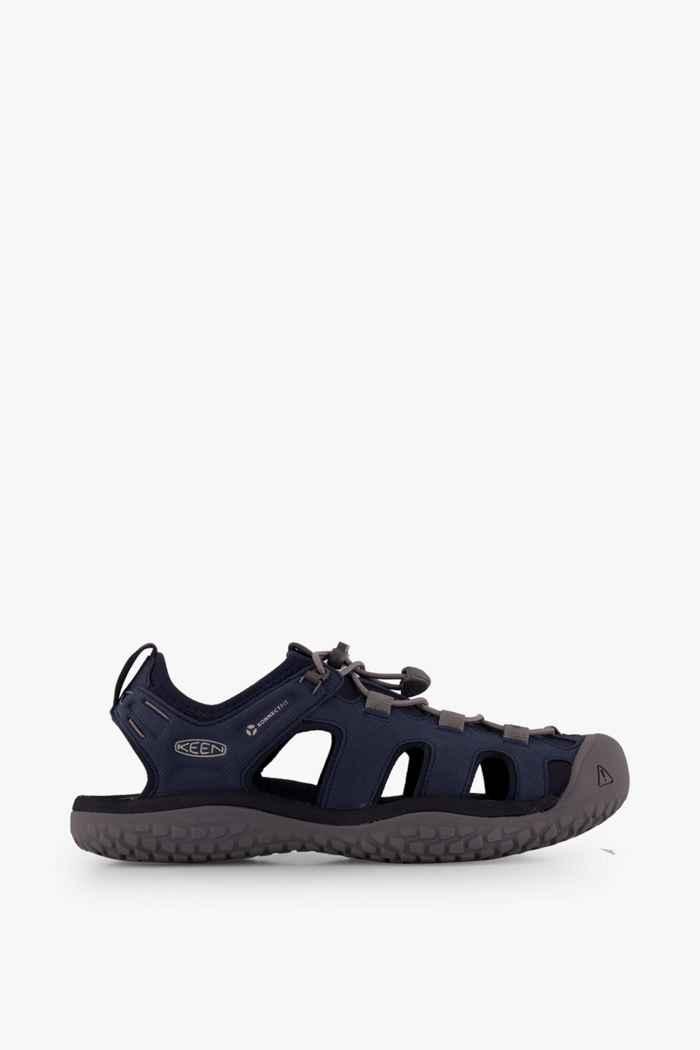 Keen Solr sandali da trekking uomo Colore Blu-grigio 2