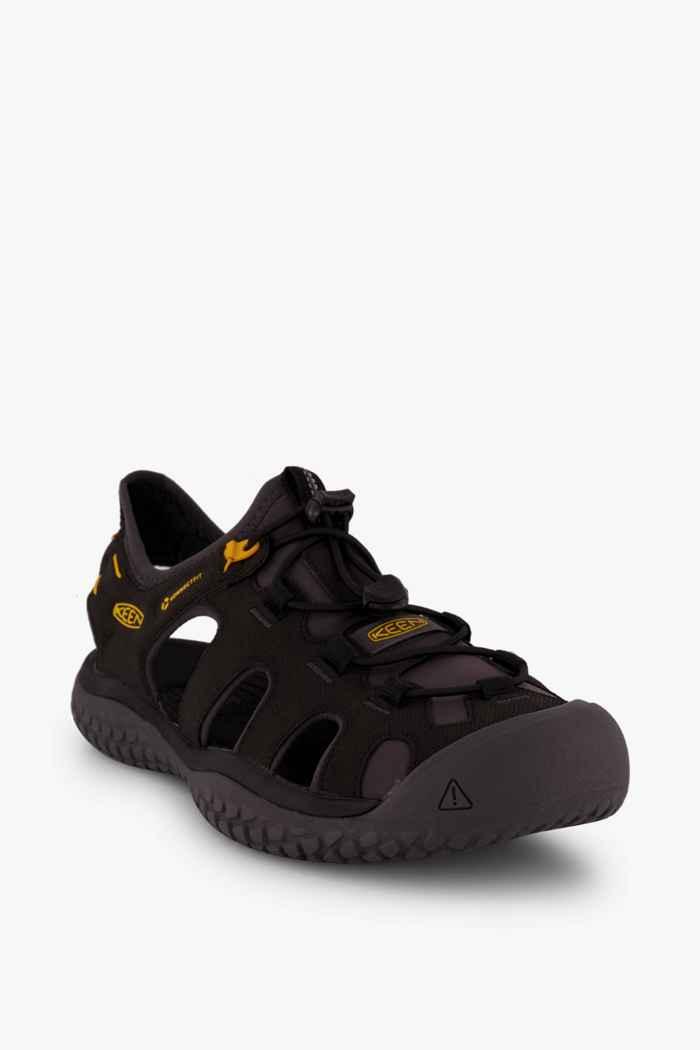 Keen Solr sandali da trekking uomo Colore Nero 1