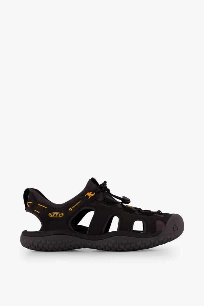 Keen Solr sandali da trekking uomo Colore Nero 2