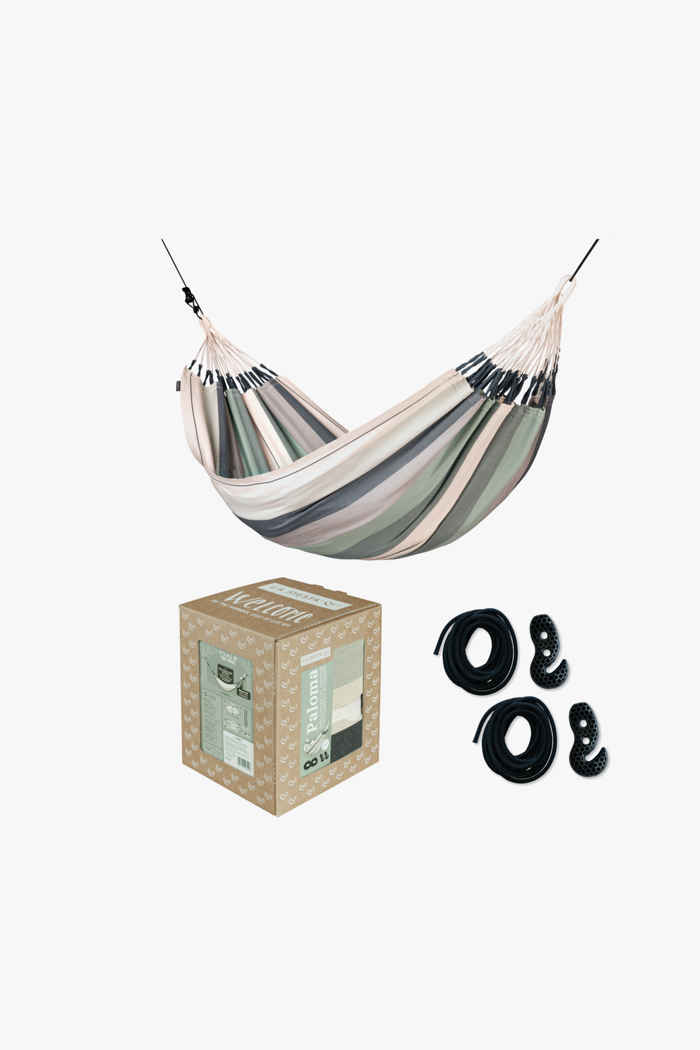 La Siesta Paloma Organic Cotton Single hamac + fixation 1