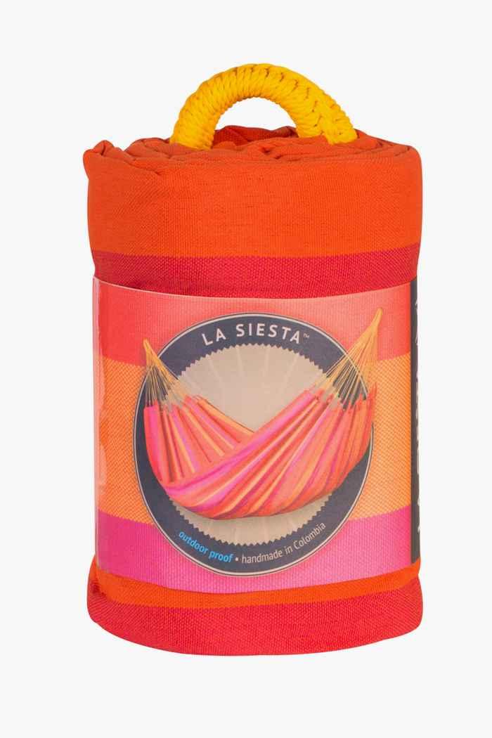 La Siesta Sonrisa Single hamac Couleur Rose vif 2