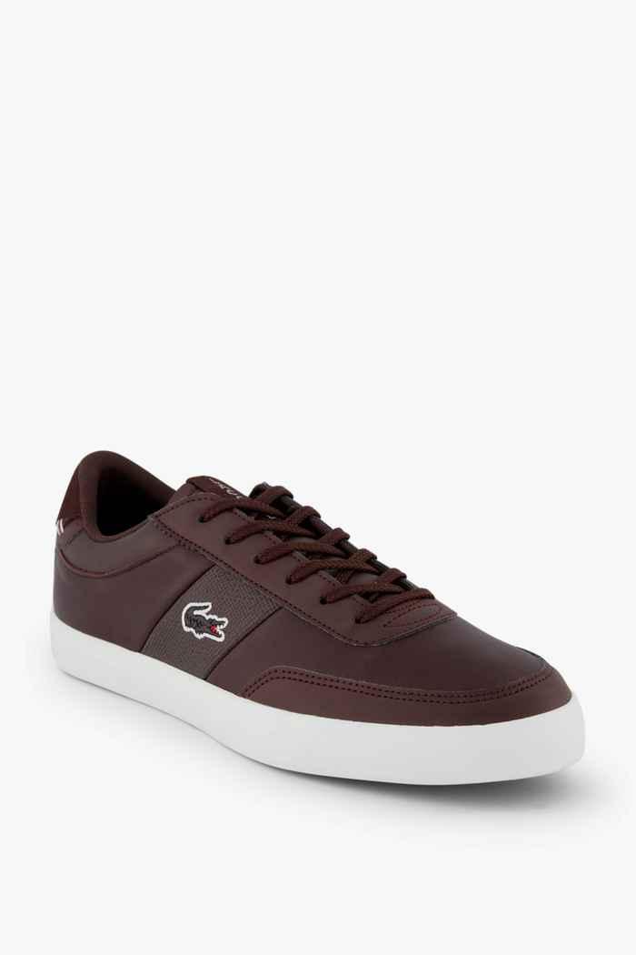 Lacoste Court Master sneaker uomo Colore Marrone 1