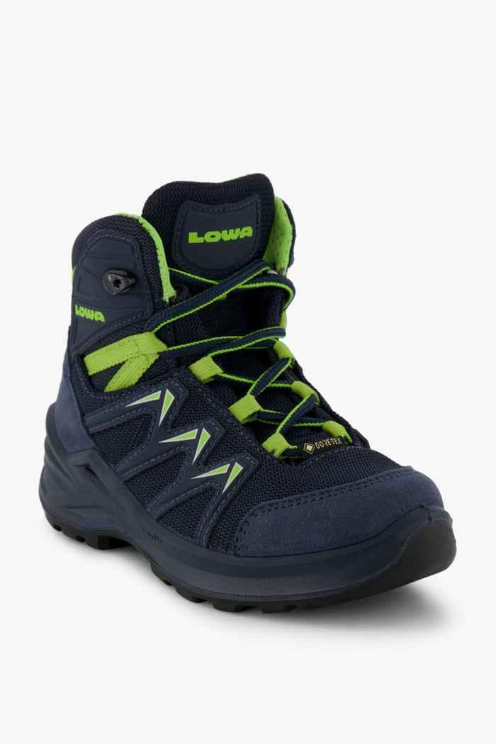 Lowa Innox Pro Gore-Tex® 23-35 chaussures de randonnée enfants Couleur Bleu 1