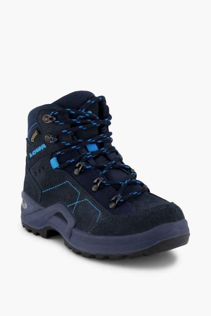 Lowa Kody III Mid Gore-Tex® 36-39 Kinder Wanderschuh Farbe Blau 1
