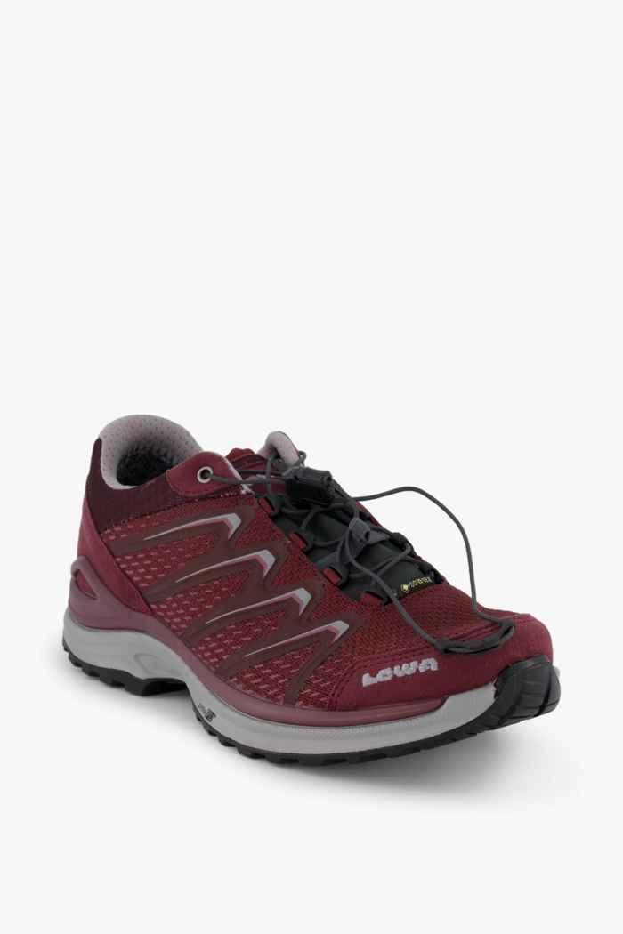 Lowa Maddox Gore-Tex® Damen Trekkingschuh Farbe Burgunder 1