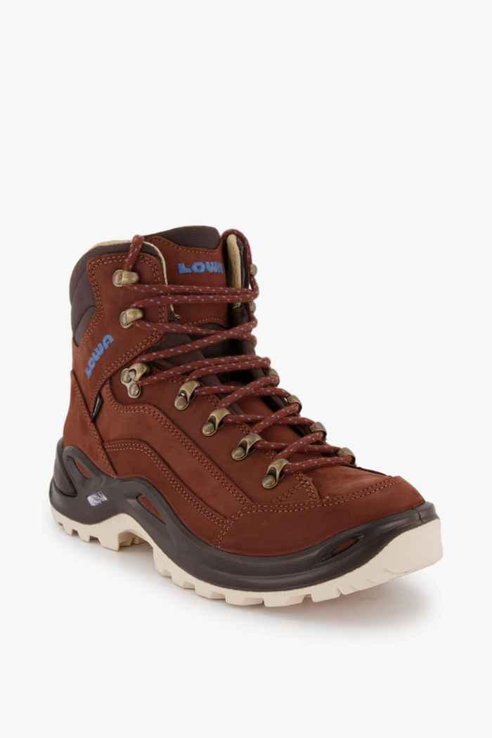 Lowa Renegade Mid Gore-Tex® chaussures de randonnée femmes Couleur Marron 1