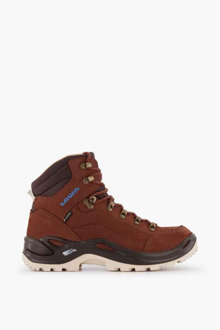 Lowa Renegade Mid Gore-Tex® chaussures de randonnée femmes Couleur Marron 2