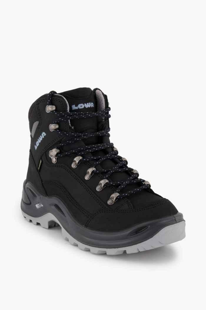 Lowa Renegade Mid Gore-Tex® chaussures de randonnée femmes Couleur Noir 1
