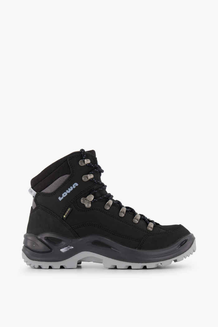 Lowa Renegade Mid Gore-Tex® chaussures de randonnée femmes Couleur Noir 2