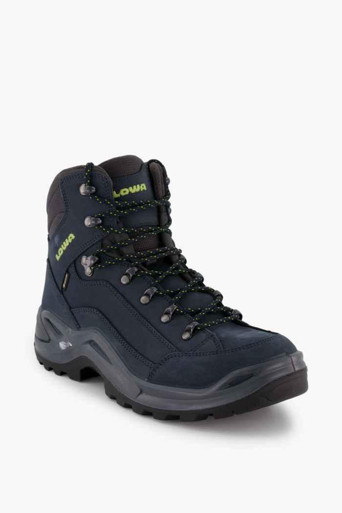 Lowa Renegade Mid Gore-Tex® chaussures de randonnée hommes Couleur Bleu 1