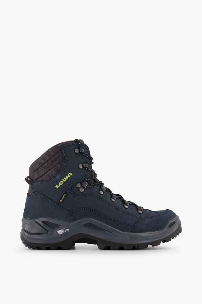 Lowa Renegade Mid Gore-Tex® chaussures de randonnée hommes Couleur Bleu 2