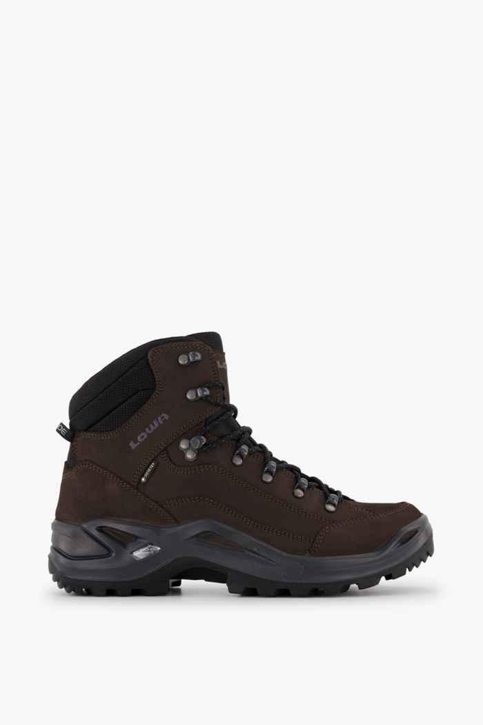 Lowa Renegade Mid Gore-Tex® chaussures de randonnée hommes Couleur Marron 2