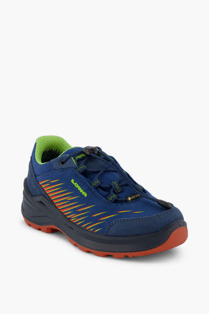 Lowa Zirrox Gore-Tex® 41-42 Jungen Trekkingschuh Farbe Blau 1