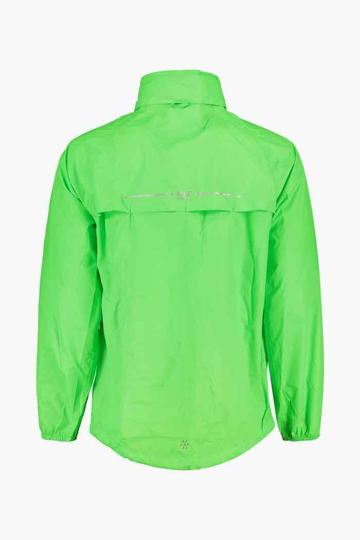 Mac in a Sac Neon Regenjacke Farbe Grün 2