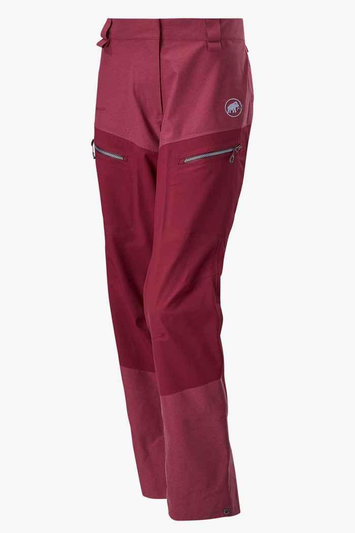 Mammut Alvier Armor HS pantaloni per sci alpinismo donna 1