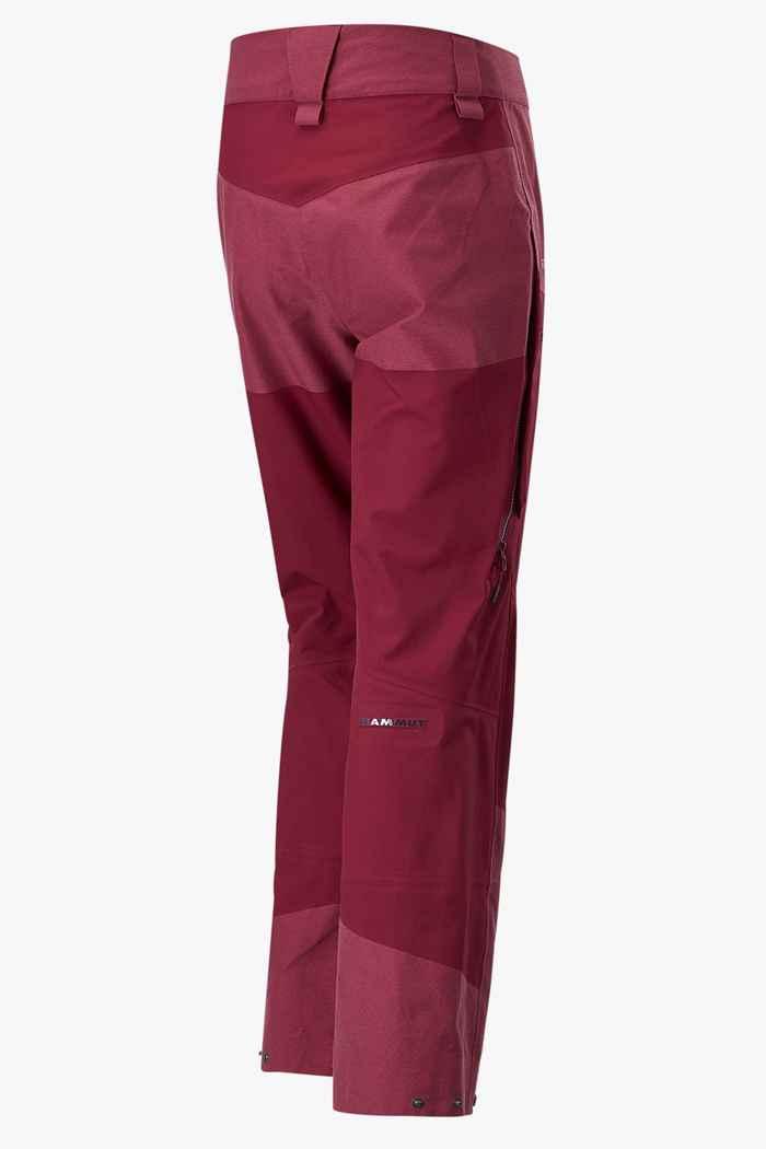 Mammut Alvier Armor HS pantaloni per sci alpinismo donna 2