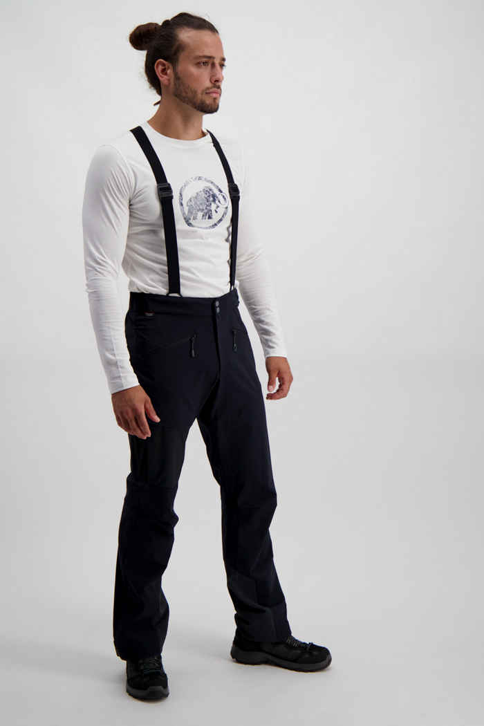 Mammut Base Jump Touring pantaloni softshell uomo 1
