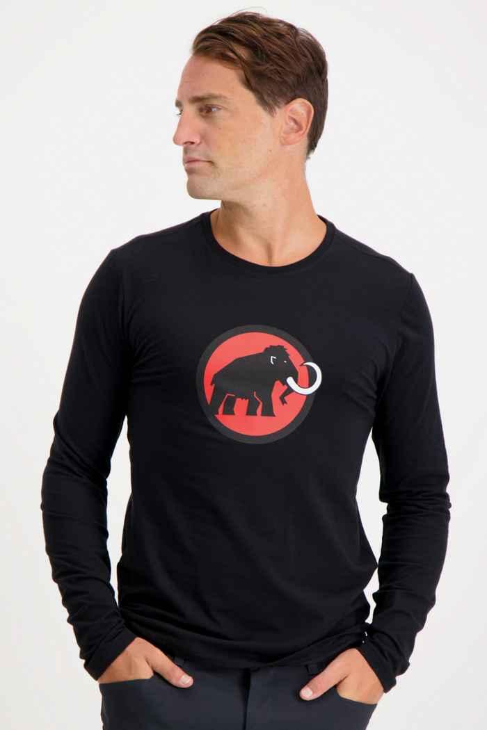 Mammut Classic Herren Longsleeve Farbe Schwarz 1