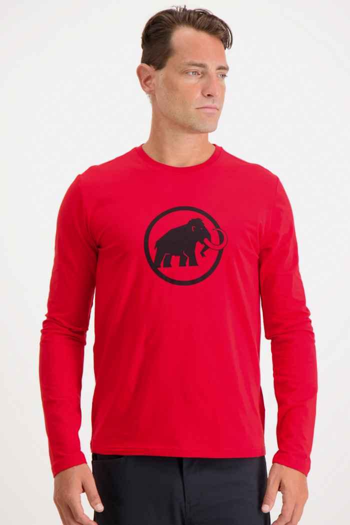 Mammut Classic longsleeve hommes Couleur Rouge 1