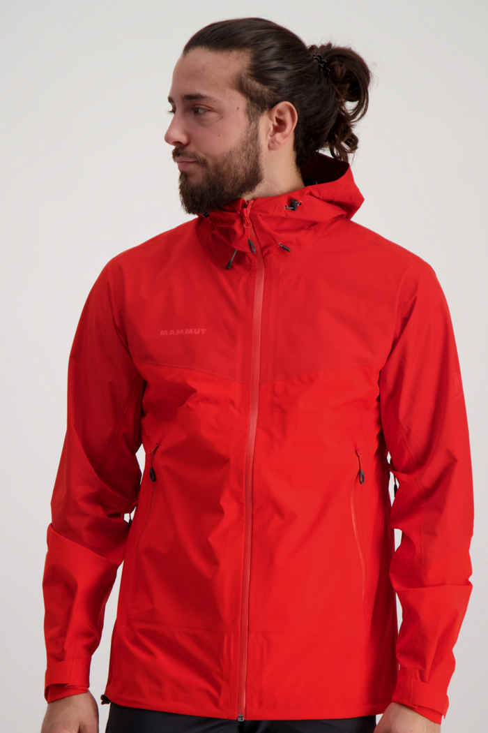 Mammut Convey Tour HS Gore-Tex® giacca outdoor uomo Colore Rosso 1