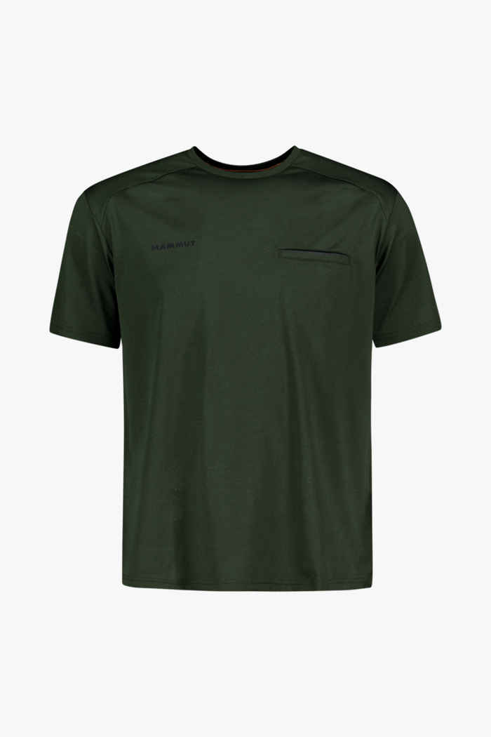 Mammut Crashiano t-shirt hommes Couleur Olive 1