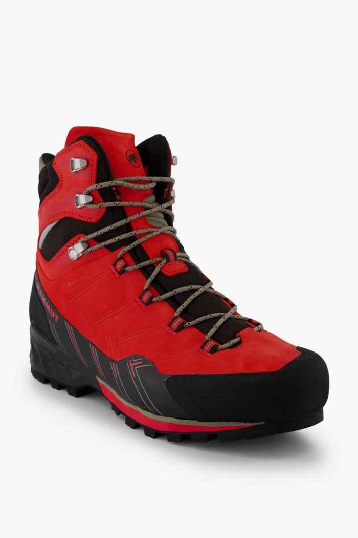 Mammut Kento Guide Gore-Tex® scarpe da trekking uomo Colore Nero-rosso 1